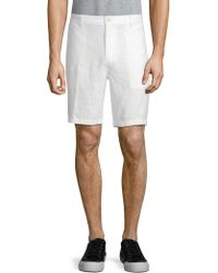 Saks Fifth Avenue | Classic Linen Shorts | Lyst