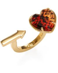 Marc Jacobs - Pointer Heart Trend Ring - Lyst