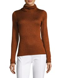 Alice + Olivia - Billi Slim Turtleneck Sweater - Lyst