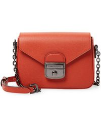 Longchamp - Le Pliage Heritage Leather Extra Small Crossbody Bag - Lyst