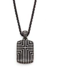 John Hardy - Bedeg Sterling Silver Pendant Necklace - Lyst