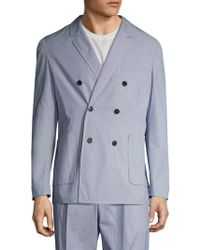 3.1 Phillip Lim - Hand Tailored Double Breasted Sportcoat - Lyst