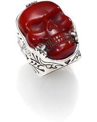 King Baby Studio - Skull Ring - Lyst