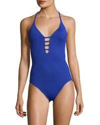 La Blanca - Island Keyhole One Piece Swimsuit - Lyst