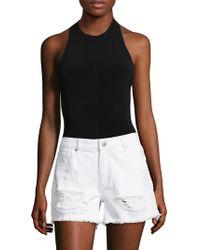 RACHEL Rachel Roy - Knit Tricot Bodysuit - Lyst