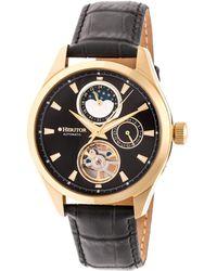 Heritor - Sebastian Stainless Steel Watch, 40mm - Lyst