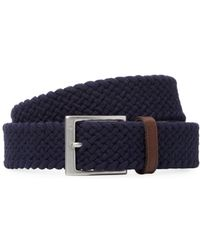 Fred Perry - Solid Braided Belt - Lyst