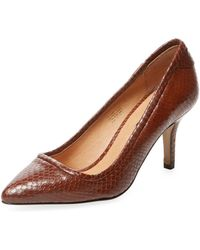 Elorie - Phase Mid Heel Pointed-toe Pump - Lyst