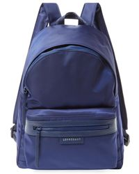 f155b26552d72 Lyst - Longchamp Le Pliage Small Neo Nylon Backpack in Purple