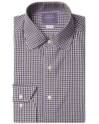 Near North - Mini Check Dress Shirt - Lyst