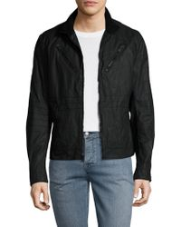 Rogue State - Coated Cotton Jacket - Lyst