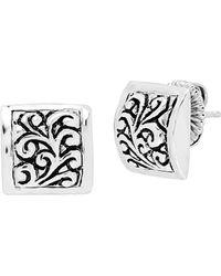 8598b4115 Lois Hill - Silver Stud Earrings - Lyst