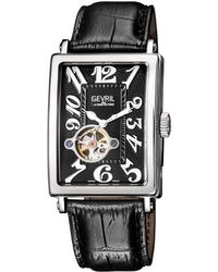Gevril Watches - Avenue Of Americas Intravedre Open Heart Automatic Watch, 44mm - Lyst
