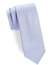 6.5cm Reversible Two-tone Knitted Silk Tie Berluti VX6WTTM