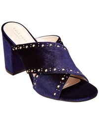 Cole Haan - Gabby Studded Velvet Sandal - Lyst