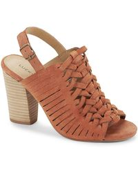 Lucky Brand - Yvette Suede Sandals - Lyst