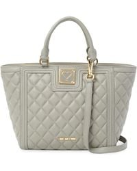 Love Moschino - Quilted Tote Bag - Lyst