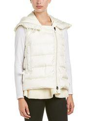 Moncler Laurie Down Vest - White