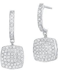 Alor - Classique 18k 0.86 Ct. Tw. Diamond Drop Earrings - Lyst