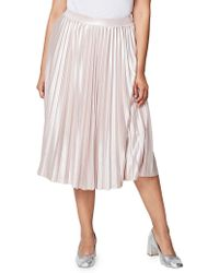 Rachel Roy - Accordion-pleated Skirt - Lyst