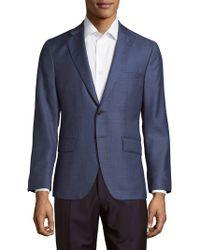 Saks Fifth Avenue - Textured Notch Lapel Sportcoat - Lyst