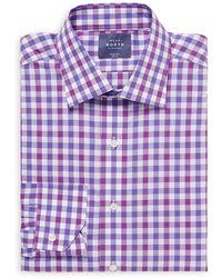Near North - Cotton Gingham Dress Shirt - Lyst