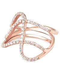 Paige Novick - 14k Rose Gold 0.77 Ct. Tw. Diamond Ring - Lyst