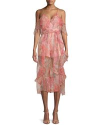 eeefccba9d Alice McCALL - Oh Me Oh My Ruffled Jumpsuit - Lyst