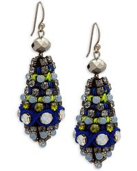 Nocturne - Julia Teardrop Earrings - Lyst