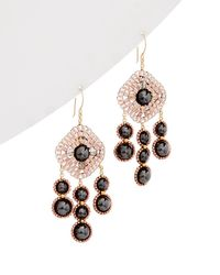 Miguel Ases - 14k Gold Filled Earrings - Lyst