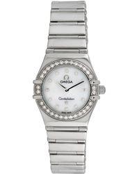 Omega Omega 2000 Women's Constellation Diamond Watch - Metallic