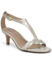 Donald J Pliner - Kate Metallic Sandal - Lyst