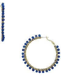 Rebecca Minkoff - Morocco Hoop Earrings - Lyst