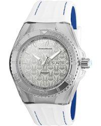 TechnoMarine Men's Silicon Watch - Metallic