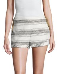 Dolce Vita - Holly Striped Lace Up Short - Lyst