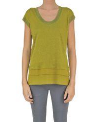 Seventy - Linen And Silk Pullover - Lyst