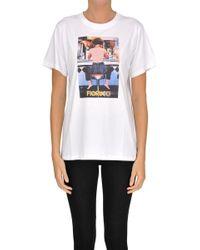 e2b6bd09e96 Fiorucci - Cotton T-shirt - Lyst