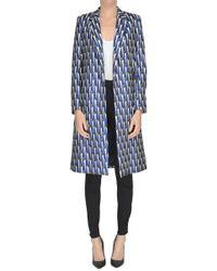 Dries Van Noten - Jacquard Fabric Coat - Lyst