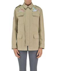 RED Valentino - Embroidered Safari Jacket - Lyst