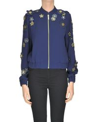MICHAEL Michael Kors - Flower Applications Jacket - Lyst
