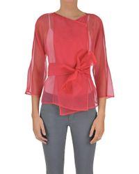 Armani - Silk Organza Jacket - Lyst