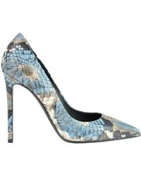 Greymer - Reptile Print Leather Pumps - Lyst