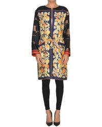 Dries Van Noten - 'ramidos' Silk Coat - Lyst