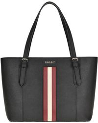 Bally - Supra Leather Tote Bag - Lyst