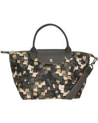 Longchamp - 'le Pliage' Printed Nylon Bag - Lyst