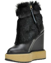 Paloma Barceló - Ticino Vermont Leather Ankle-boots - Lyst