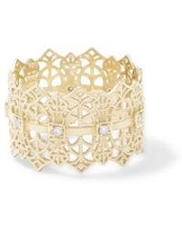 Grace Lee - Lace Crown Ring With Diamonds - Lyst