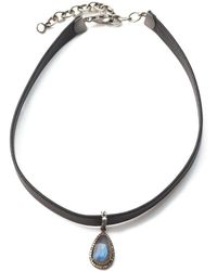 Sheryl Lowe - Leather Choker - Lyst