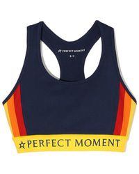 Perfect Moment - Race Stripes Fitness Top - Lyst