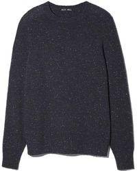 Alex Mill - Donegal Saddle Shoulder Crew Sweater - Lyst